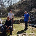 """Villa San Sebastiano, cittadini ripuliscono il sentiero che porta al """"Rifugio Danilo Gargano"""" sul Monte Aurunzo"""