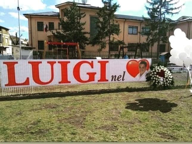 06 aprile 2009, Trasacco non dimentica il giovane Luigi Cellini