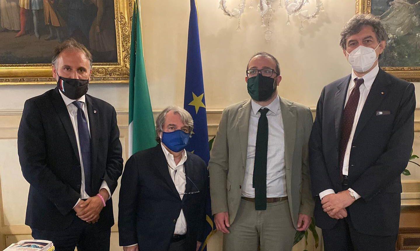 Lavoratori precari della ricostruzione post sisma, Marsilio e Liris incontrano il Ministro Brunetta