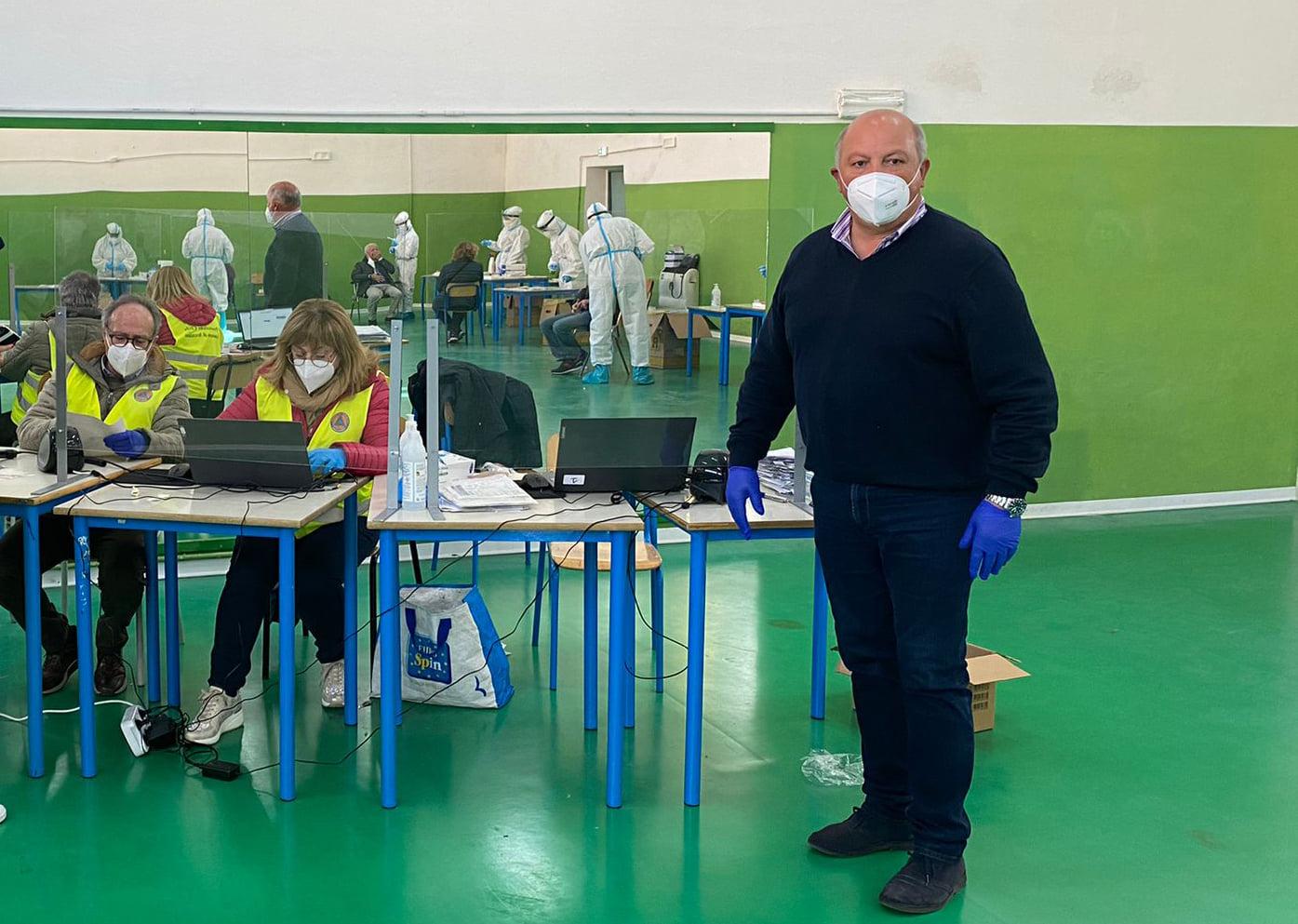 Screening di Avezzano: eseguiti oltre 1500 test, 6 positivi