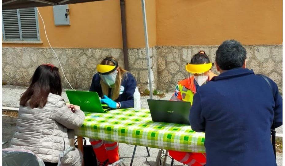 La Croce Verde di Civitella Roveto in aiuto dei cittadini per la prenotazione vaccino anti Covid-19