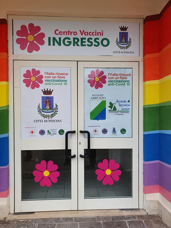 Pescina, aperte le porte dell'ex Distretto Sanitario come Centro Vaccinale