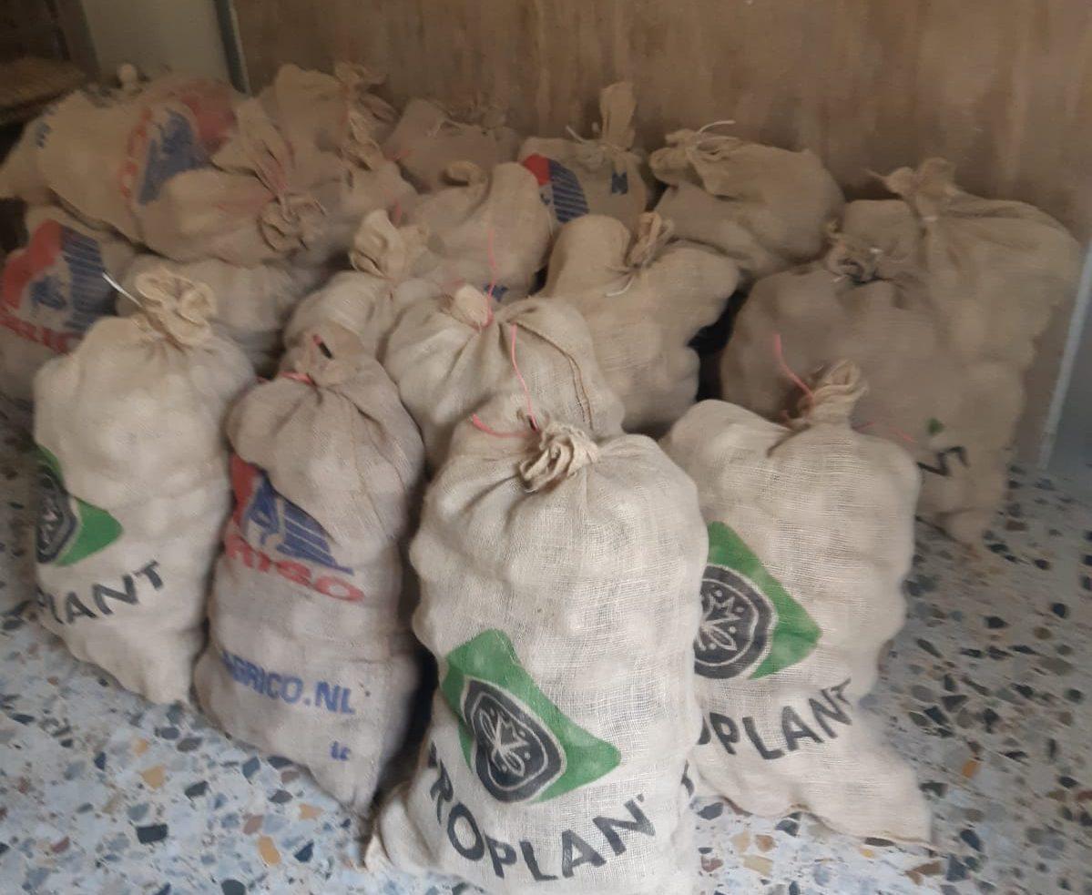 Sante Marie, donate le patate del Fucino alle famiglie in difficoltà