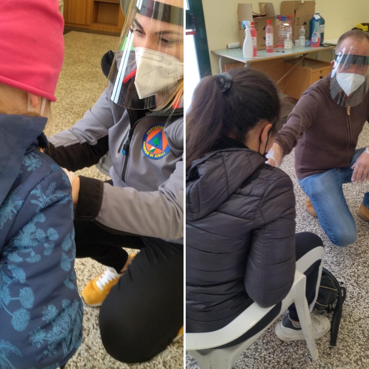 Ieri ad Aielli secondo screening con test salivari sui bambini, tutti negativi