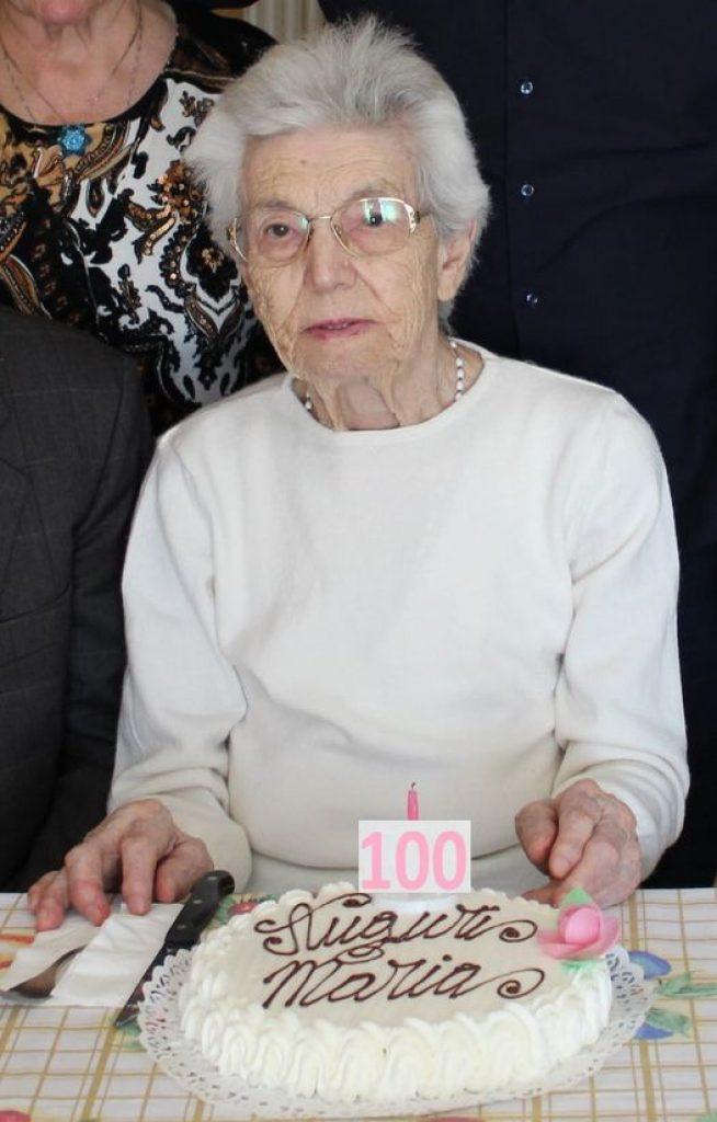 Oricola festeggia i 100 anni di Maria Diletta D'Ortenzio