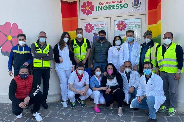 Grande partecipazione all'Open Day Astra-Zeneca a Pescina, 160 persone over 60 vaccinate