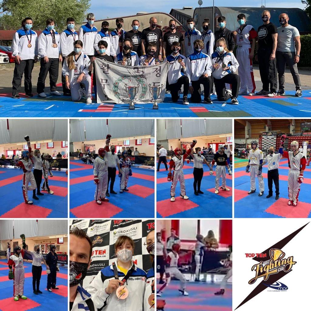 Kick Boxing, il team marsicano del Maestro Marzella conquista podi importanti per i Campionati italiani