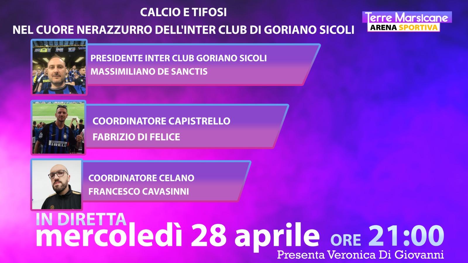 La pandemia con gli occhi dei tifosi: l'Inter Club Goriano Sicoli si racconta