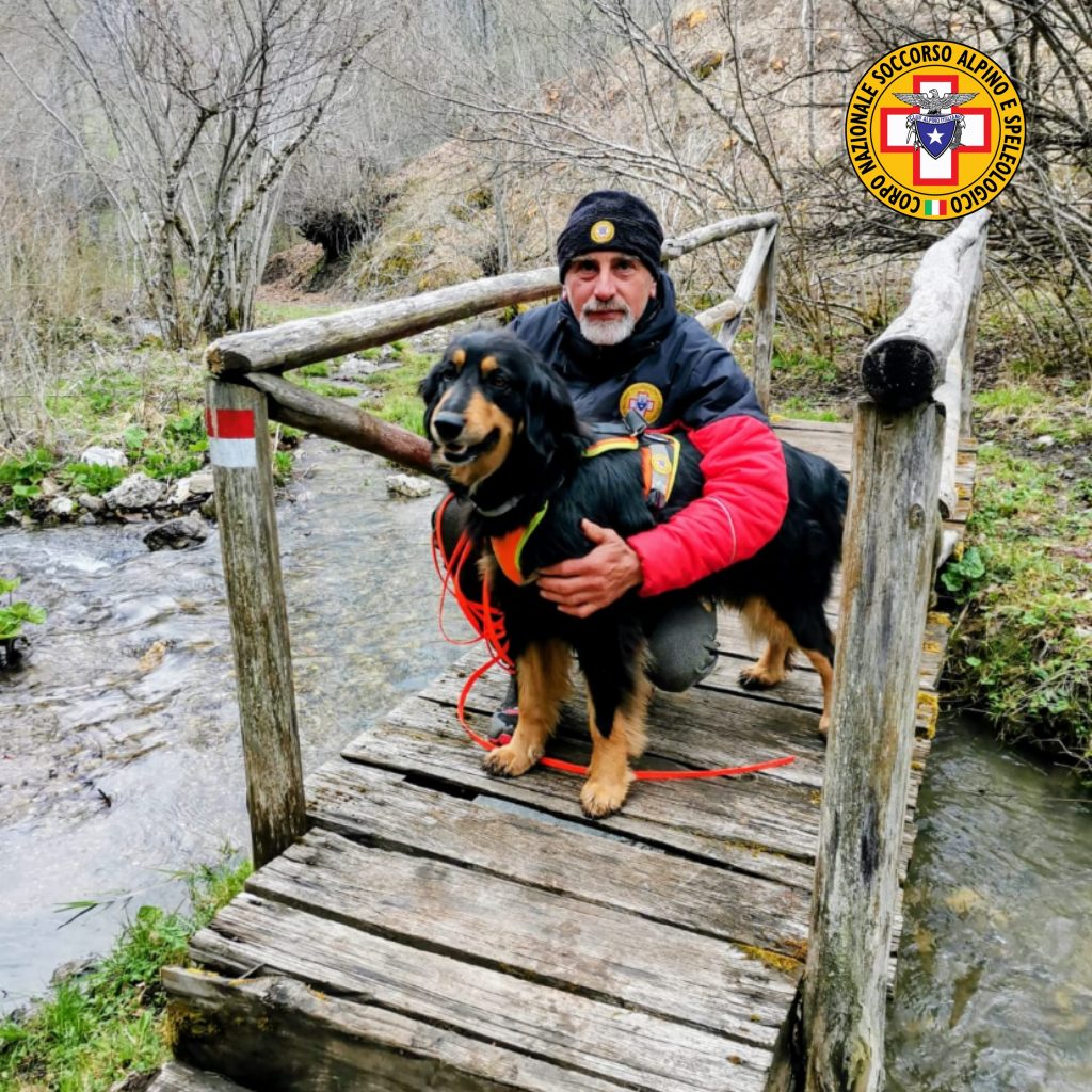 L'Abruzzo in prima linea per l'addestramento delle Unità Cinofile di ricerche in superficie del Soccorso Alpino e Speleologico
