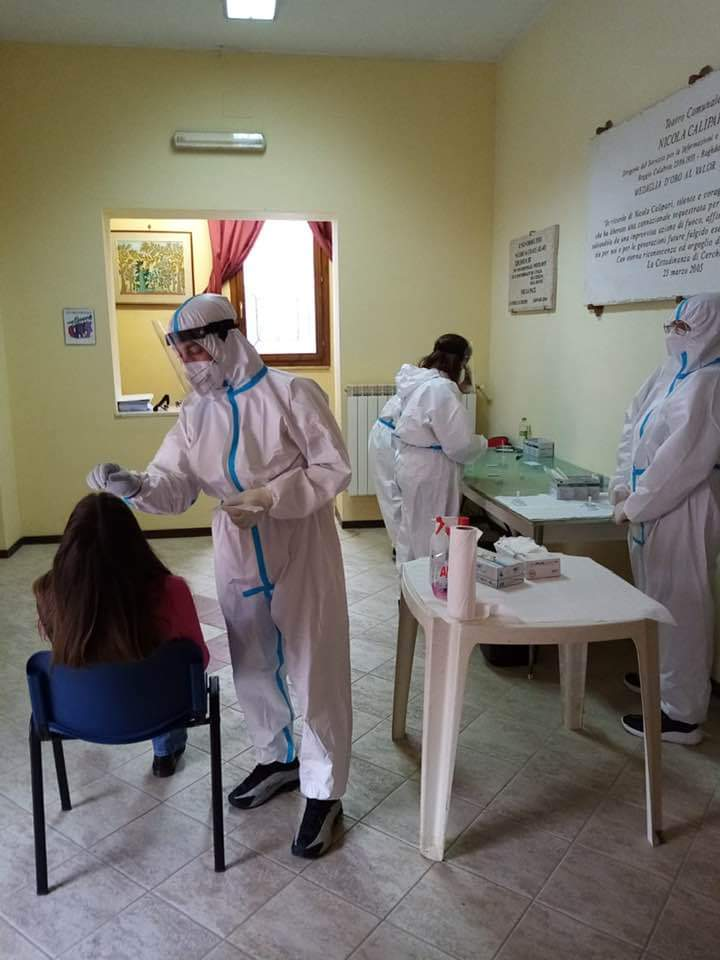 Nessun positivo al covid trovato per gli screening di Aielli, Magliano, San Vincenzo, Balsorano e Cerchio