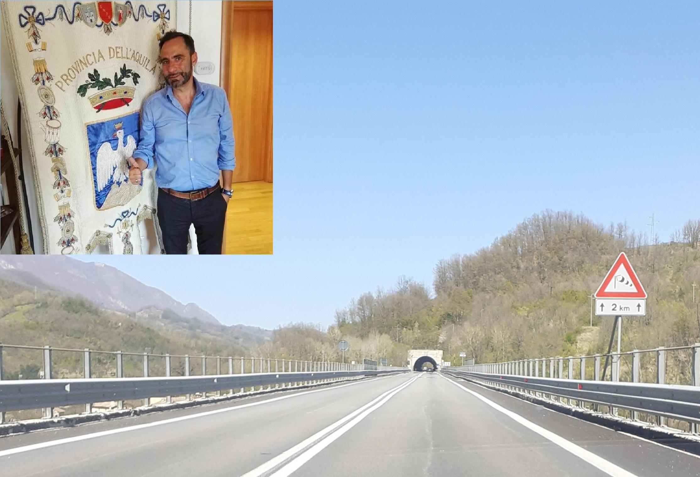 Viabilità Valle Roveto, intervista al delegato alla viabilità della Provincia, Gianluca Alfonsi