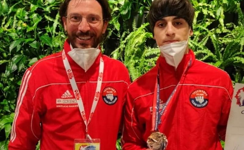 Taekwondo Celano: Samuele Baliva ai Campionati Europei con la Nazionale Italiana