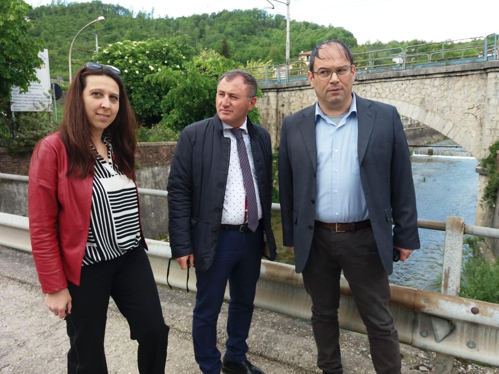 Carsoli, dopo 12 anni apre il cantiere per la messa in sicurezza di un tratto della via Tiburtina Valeria