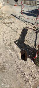 Voragine nell'asfalto a San Donato: protestano i residenti