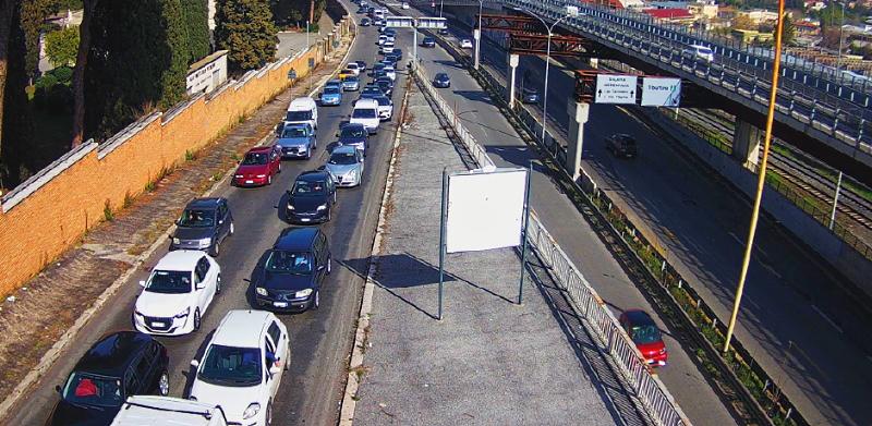 Tangenziale Est di Roma e immissione in A24: dal 12 aprile cambia la viabilità