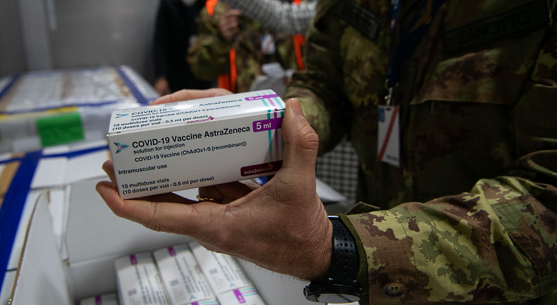Arrivate oltre 1,3 milioni di dosi di AstraZeneca (Vaxzevria), pronte per la distribuzione alle Regioni