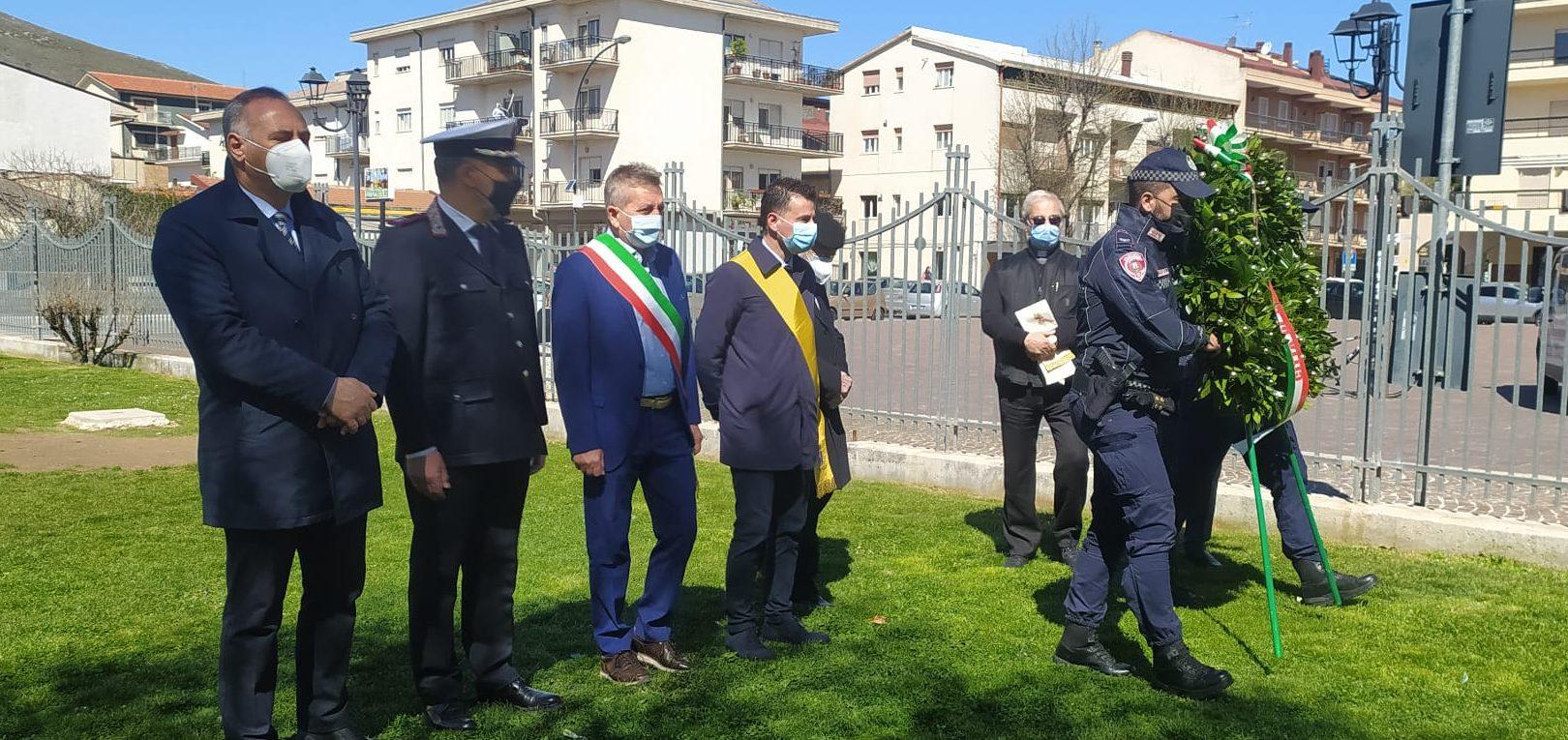 """25 aprile, il sindaco Di Pangrazio """" insieme sconfiggeremo anche il virus"""""""
