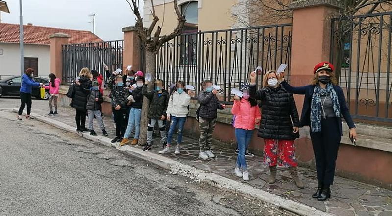 I bambini di Cerchio sono partiti per una gita virtuale a Torino