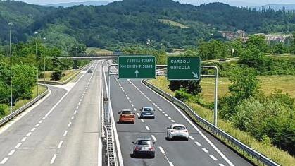 A24: chiusura notturna tratta Vicovaro/Mandela-Carsoli, in entrambe le direzioni, nei giorni 19 e 20 aprile