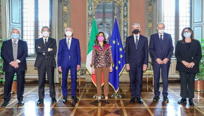 Il Presidente del Senato Casellati incontrai vertici di CNA, Confartigianato, Casartigiani