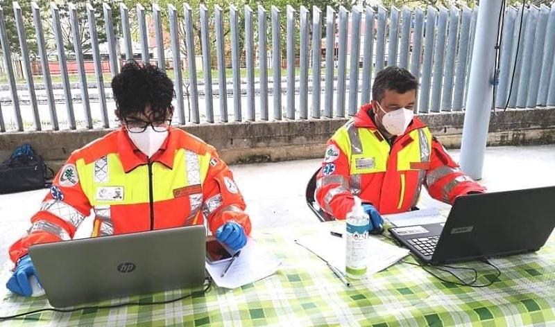 Volontari della Croce Verde di Civitella a disposizione per la prenotazione vaccini domenica 2 maggio