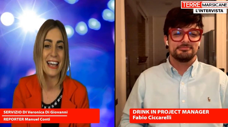 Il Marsicano Fabio Ciccarelli e l'idea Drink In, la piattaforma digitale sul mondo del beverage