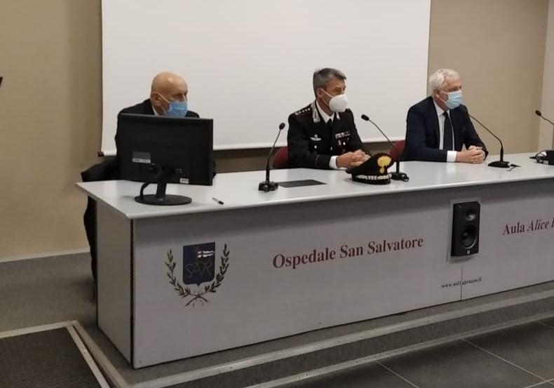 Vaccinazioni Covid: Carabinieri e Asl insieme per agevolare gli utenti over 70 nelle prenotazioni