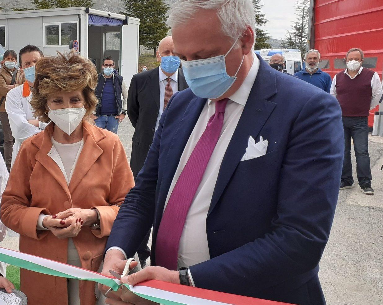 Ospedale di Avezzano: inaugurato oggi il nuovo pre triage anti covid
