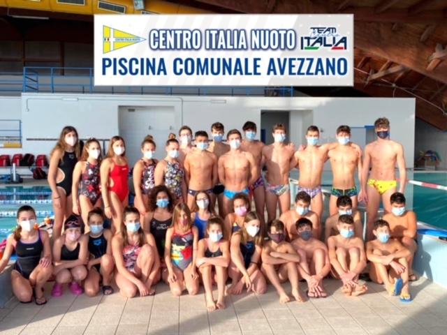 Gli atleti del Team Centro Italia Nuoto protagonisti indiscussi della Regione Abruzzo nel Campionato Italiano di categoria
