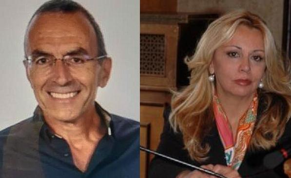 Ignazio Iucci (Avezzano al Centro) e Alessandra Cerone (Io sto con Avezzano)