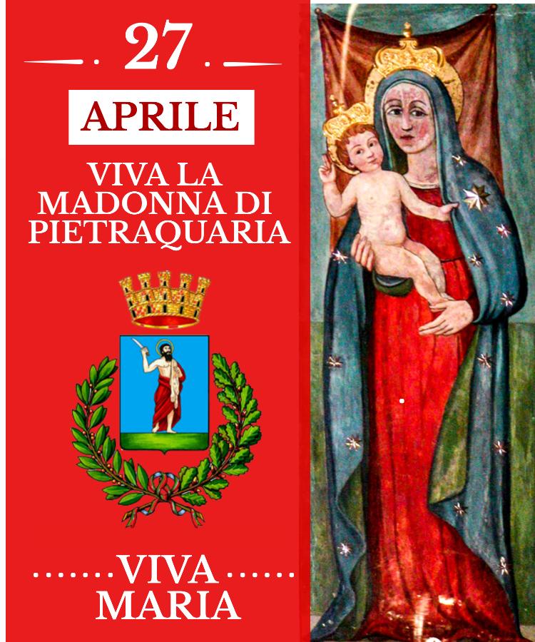 """Festa della Madonna di Pietraquaria, il Sindaco Di Pangrazio: """"Colonna portante della nostra identità"""""""