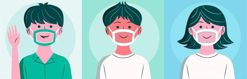 Scolari non udenti: in arrivo mascherine monouso trasparenti