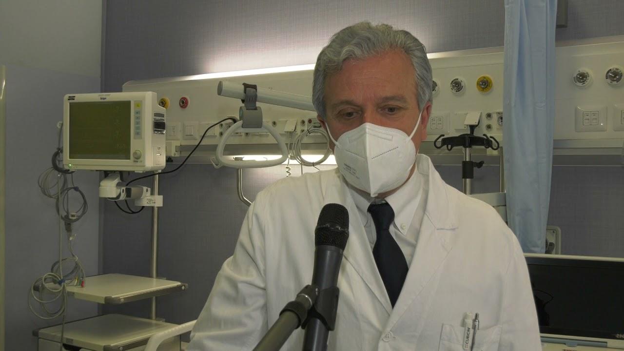 Altri 7 posti letto di terapia sub intensiva inaugurati nel reparto malattie infettive dell'ospedale di L'Aquila