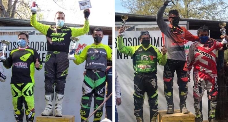 Successo del motocross a Farindola: due marsicani sul podio
