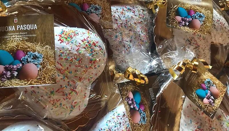 Un dolce regalo di Pasqua per tutti i bambini di Opi