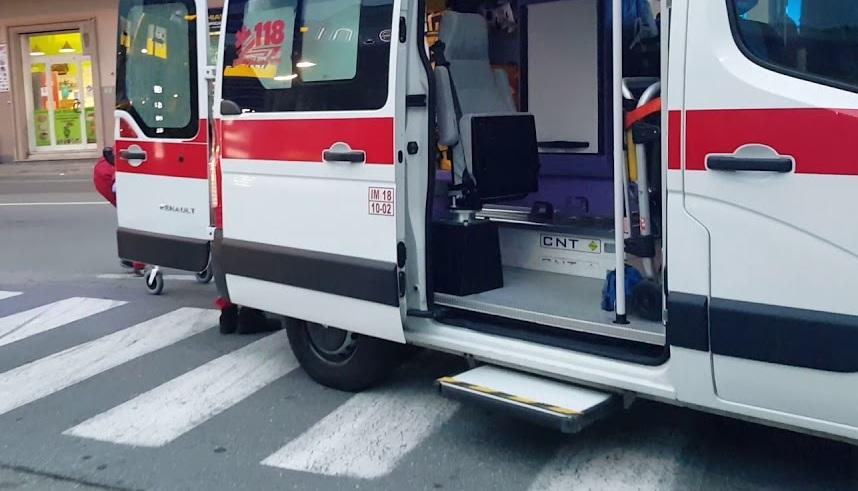 Pedone investito mentre attraversa la strada nel centro di Avezzano