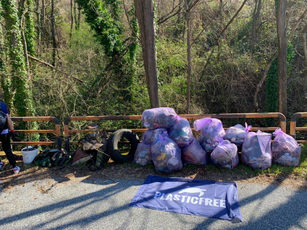 Passeggiata ecologica Plastic Free a Civita d'Antino Scalo domenica 25 aprile