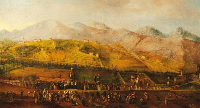 Un dipinto offerto alla Madonna dell'Oriente nel 1854, anno della grande epidemia di colera