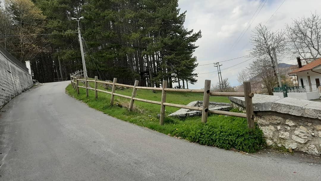 Messa in sicurezza di via Fonte Vecchia e Via Portanova a Villavallelonga