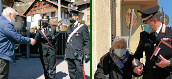 Prenotazione vaccino Covid-19, Comune di Trasacco e Carabinieri a supporto degli over 70