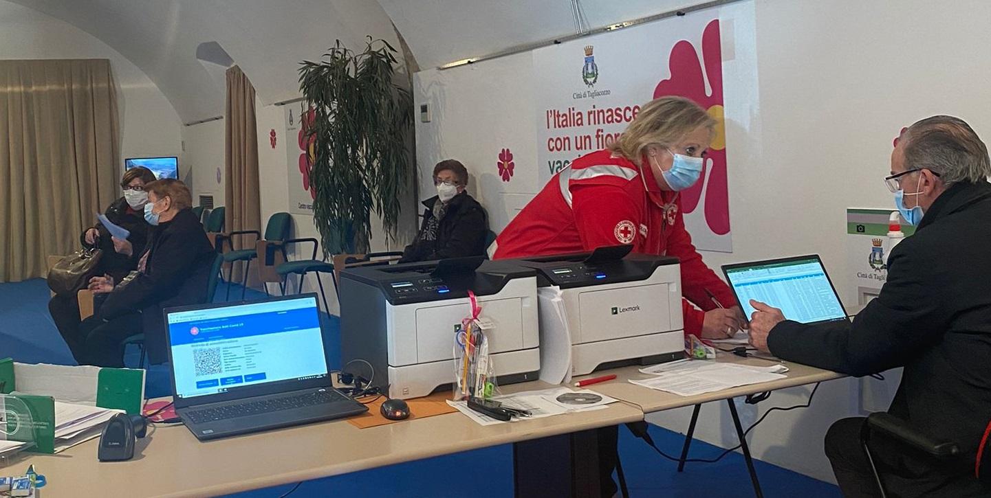 Open day con il Vaccino Astrazeneca, la Asl1 accoglie la proposta del comune di Tagliacozzo