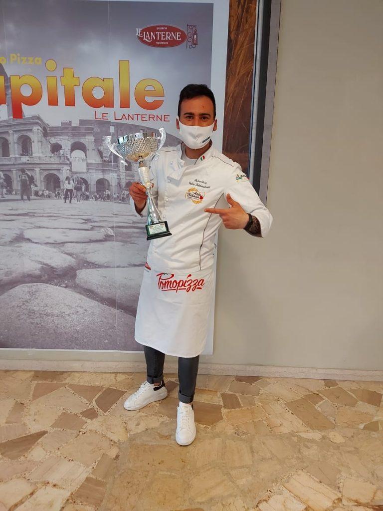 La pizza gourmet dell'avezzanese Valeri Sakhiashvili conquista il Trofeo Pizza Capitale di Roma