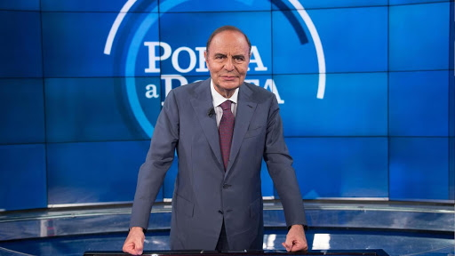 Bruno Vespa contro Marco Marsilio: