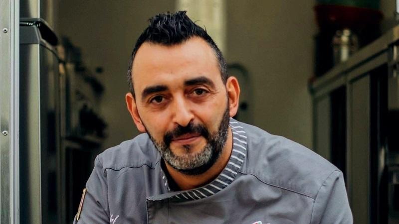 Lo chef rovetano Michele Romano al Giro D'Italia con il Team Uae