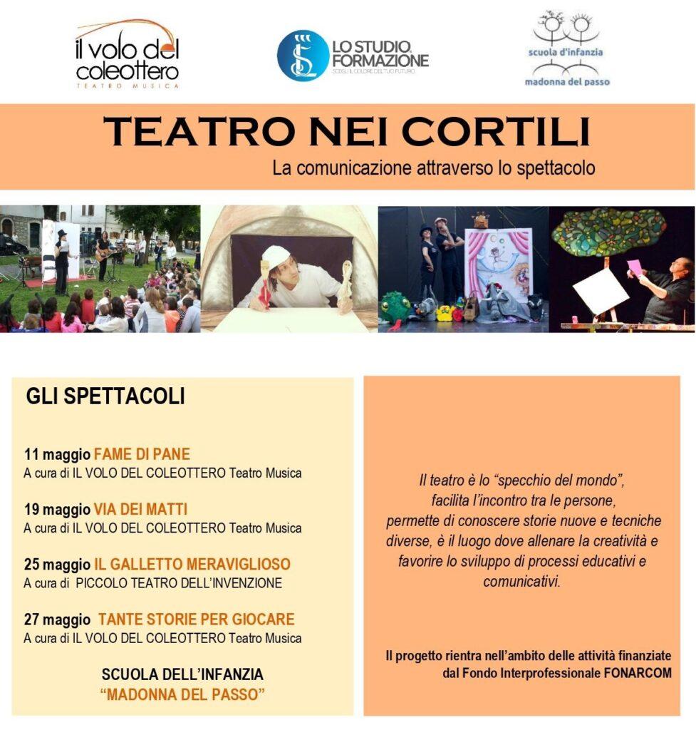 Libri, arte e teatro alla Scuola dell'Infanzia Madonna del Passo e Centro Gioco Amahoro di Avezzano
