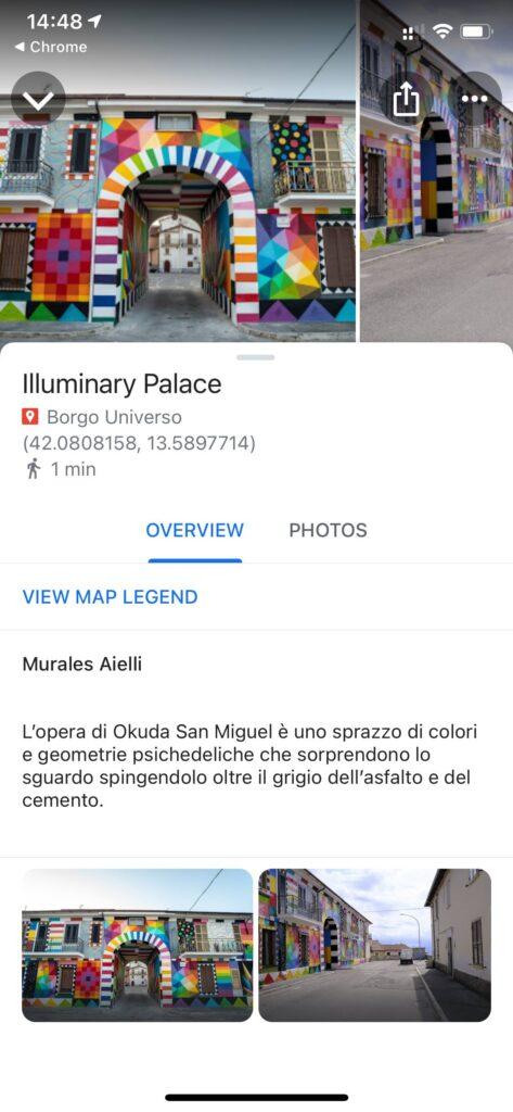 Alla scoperta dell'arte diffusa ad Aielli, è online la mappa geolocalizzata di Borgo Universo
