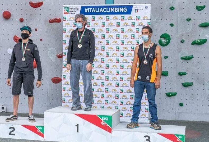 L'atleta pescinese Federico Di Felice conquista il terzo posto al Campionato Italiano Paraclimbing categoria Rp3