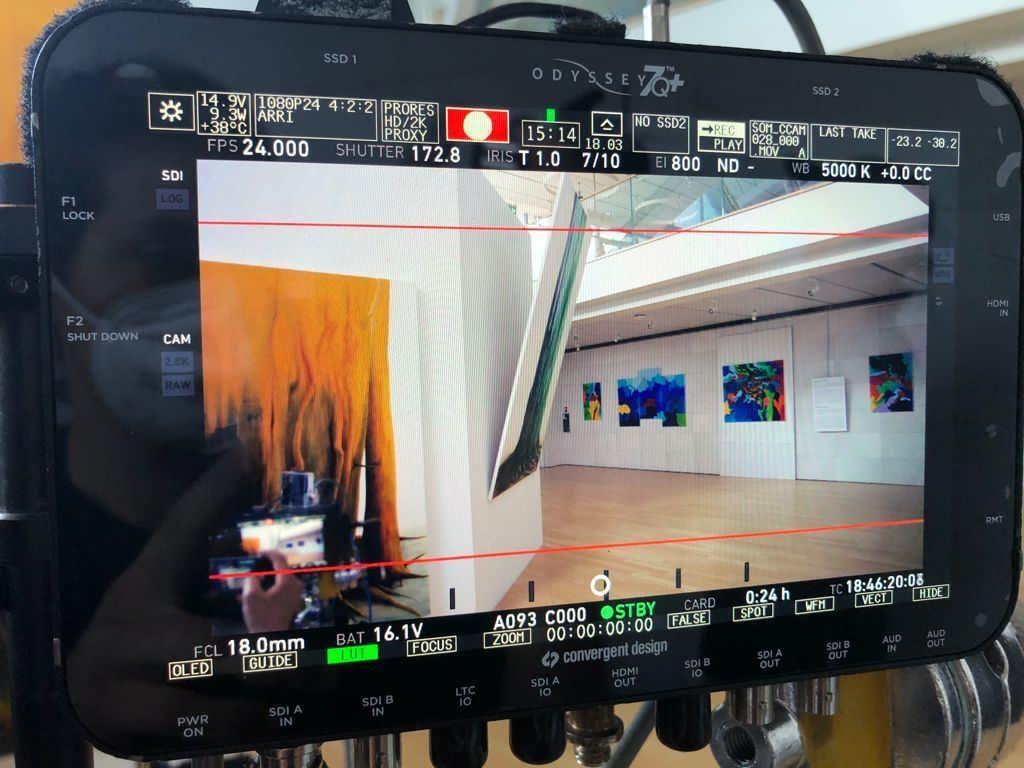 Le opere del marsicano Emanuele Moretti richieste per i set cinematografici