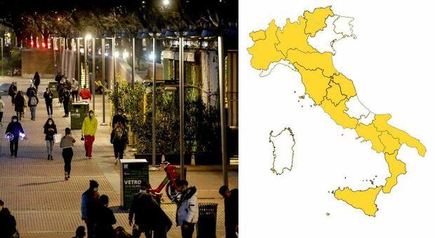 Abruzzo in zona bianca dal 7 giugno: non c'è coprifuoco