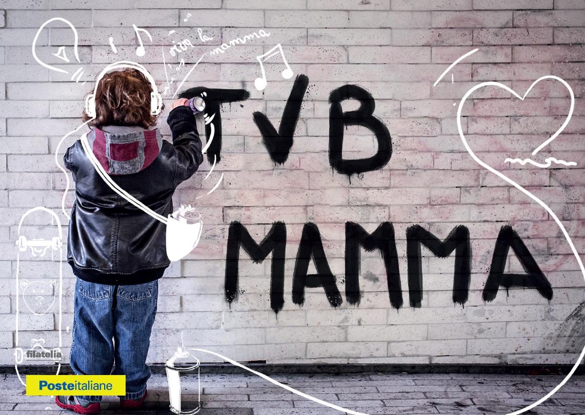 Festa della Mamma: cartoline di Poste Italiane a L'Aquila, Avezzano, Tagliacozzo e Sulmona
